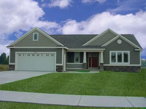 Ranch House Plans at Dream Home Source | Ranch Style Home Plans