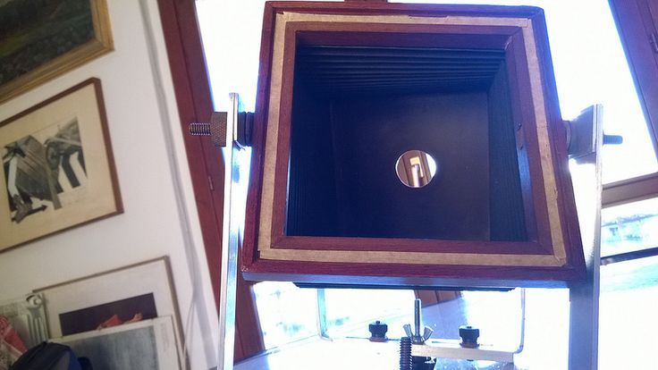 My home-made 4'x5' monorail camera, work in progress