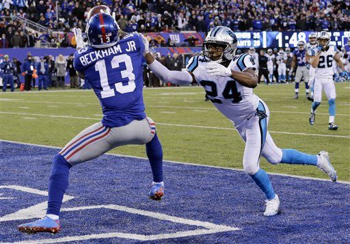 Giants receiver Odell Beckham Jr. suspended one game
