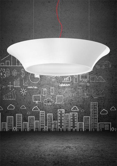 Seria VULCANO to piękne, duże lampy wykonane z laminatu lakierowanego. Średnica 110 cm. Lampy wspaniale prezentują się we wnętrzach nowoczesnych, gdzie podkreślają nowoczesny charakter pomieszczenia. Vulcano znajdują zastosowanie szczególnie w pokojach dziennych jako główne oświetlenie i w dużych salonach, gdzie zapewniają cudowny klimat i nastrój. Wspaniale prezentuję się także w pomieszczeniach wysokich i przestronnych typu główny hol.