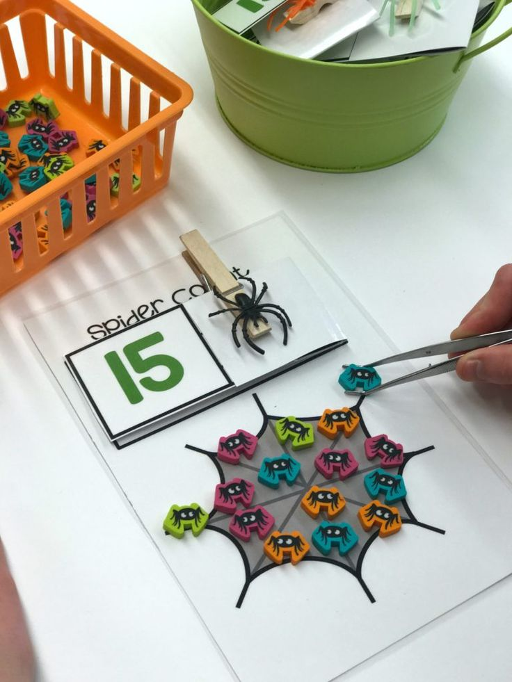 Scary Good Morning Work Activities and a Freebie - Differentiated Kindergarten