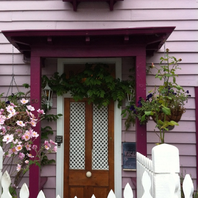Visited Akaroa in the South Island of NZ. Saw this little bed and breakfast place. So cute!