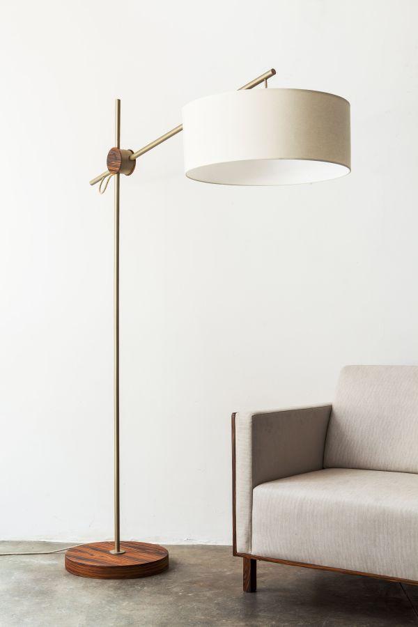 Rotula Minimalist Style Floor Lamp By Alessandra Delgado Design At Private Residence Sao Paul Lamps Living Room Floor Lamps Living Room Floor Lamp Lighting