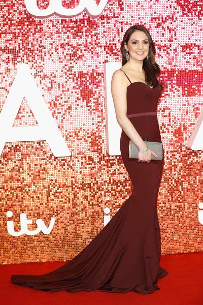Laura Tobin arriving at the ITV Gala held at the London Palladium on November 9, 2017 in London, England.