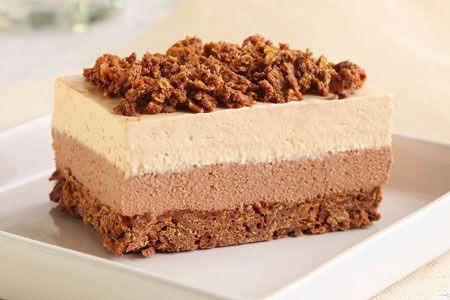 Πάστα σοκολάτα καραμέλα με τραγανή βάση - Συνταγές | γλυκές ιστορίες