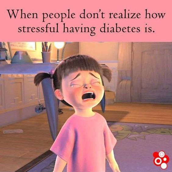 It is really important to understand we type 1. No one should make their own assumptions about us our mood and our feelings http://www.diabetesdestroyerbonus.com/