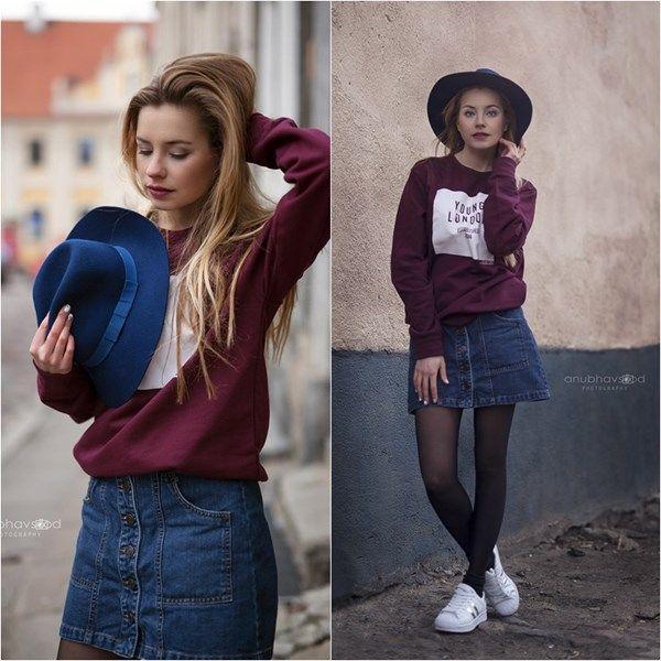 Young London sweatshirt Jak się ubrać do szkoły?