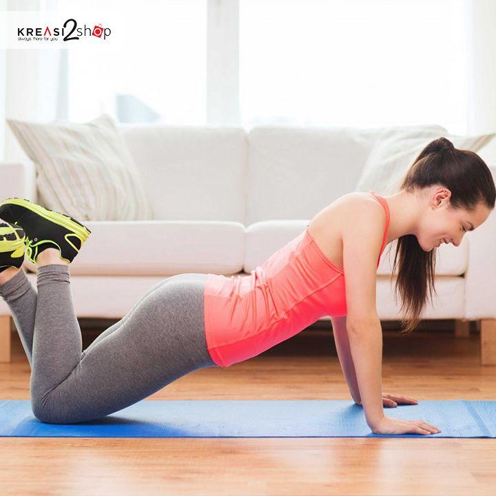 Hi kreasi lover, sebagaimanapun kalian beraktivitas, tubuh kalian semakin lama akan mengalami penurunan stamina atau energi. Oleh karena itu berilah asupan yang sesuai untuk tubuhmu dengan berolahraga. lakukanlah sedikit latihan untuk meningkatkan kondisi fisik kalian. latih daya tahan tubuh, kekuatan, kecepatan, dan kelenturan. hal tersebut bisa didapatkan dengan melakukan gerakan seperti sit up, push up, sprint, sikap lilin, role depan/belakang, angkat beban, dan masih banyak lagi…