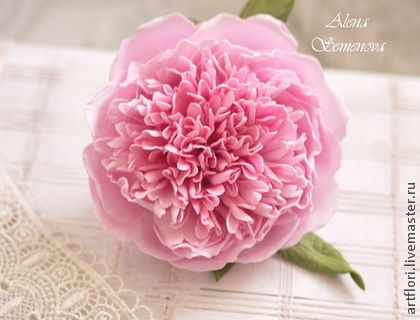 Мастер-класс пион из фоамирана. - розовый,пион,мастер-класс пион,фоамиран