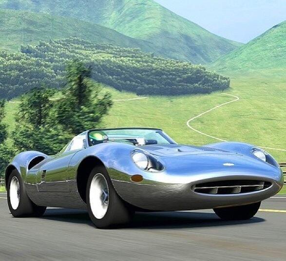 1966 Jaguar XJ-13, very rare.