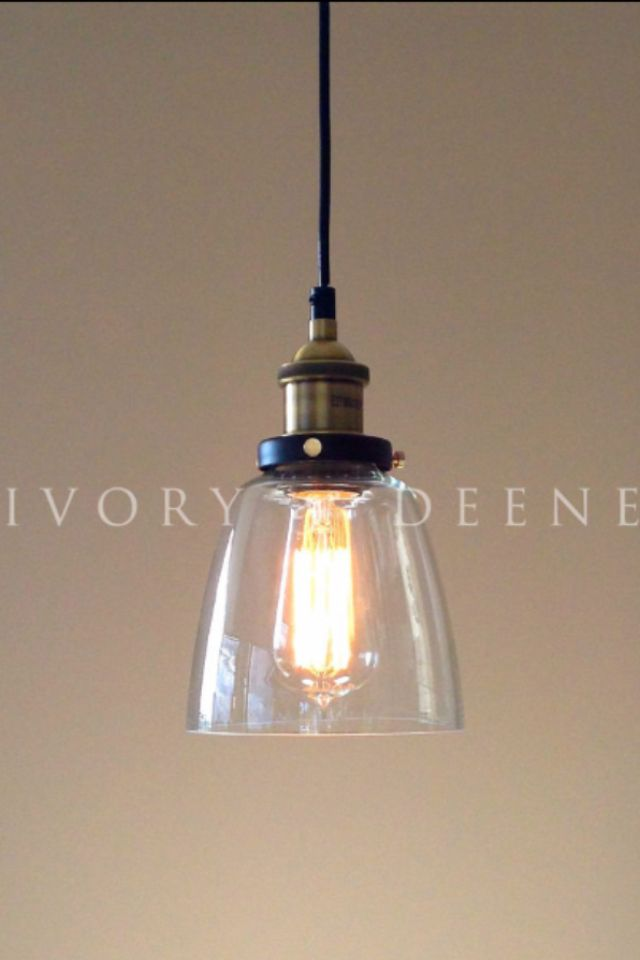 Glass Pendant Lightmodern Industrial