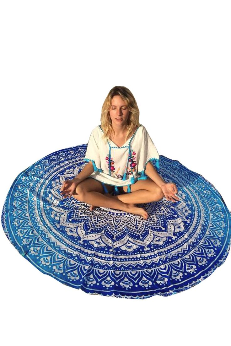 Cover Ups & Beach Robes Ocean Round Mandala Tapisserie Pas Cher www.modebuy.com @Modebuy #Modebuy #CommeMontre #me #liketeam #Achats