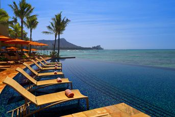 Hawaii - I know this mountain, but I somehow never experienced this view.: Dream Vacation, Bucket List, Favorite Places, Places I D, Sheraton Waikiki, Infinity Pools, Hawaii