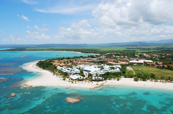 All Inclusive Grand Paradise Playa Dorada Hotel /Resort in Puerto Plata Dominican Republic. - Aerial View