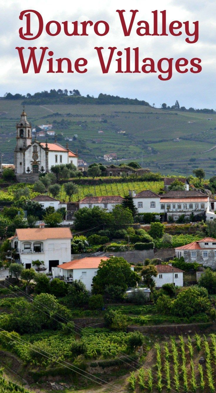 Explore these 6 wine producing villages in the Douro wine region. Discover the Cistercian monasteries that are largely responsible for the development of Portugal's most picturesque wine region. See traditional stone cottages and grand manor houses. Learn about local wine production and see workers tending the vines on the terraces. Click to find out more about what to see and do and where to stay in the Douro Valley.