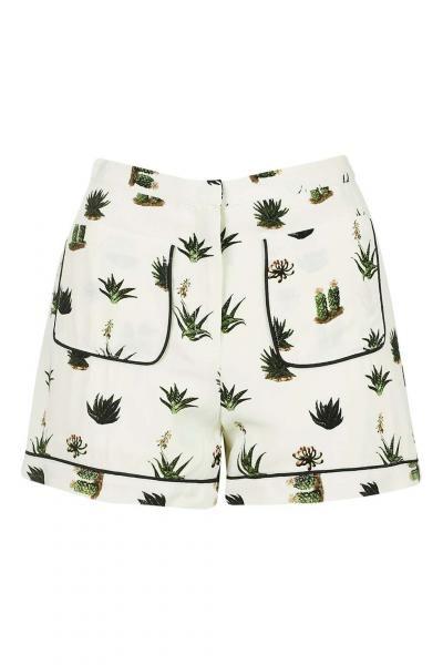 Cactus Print Shorts xx