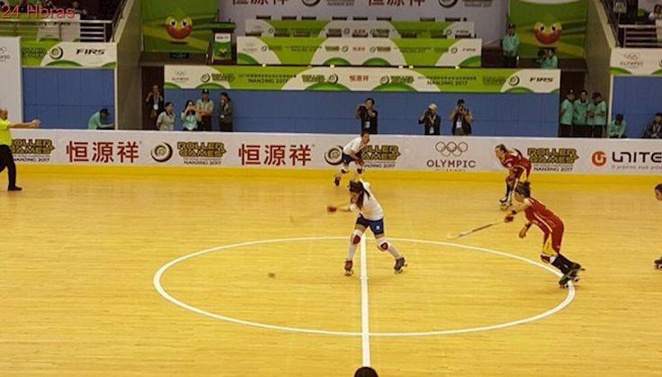 World Roller Games: 'Marcianitas' cayeron por penales ante España en semis de hockey patín