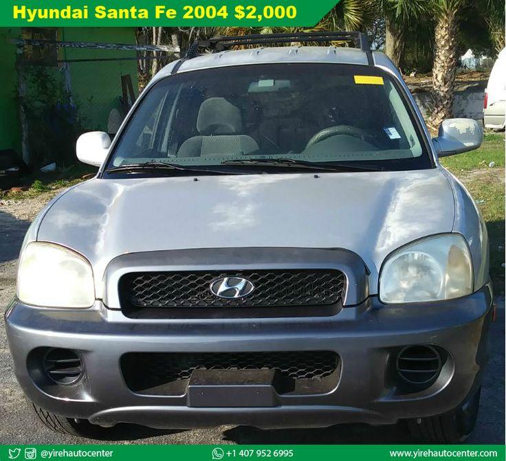 Preview Car Hyundai Santa Fe 2004