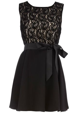 i loooove this!: Black Lace, Party Dresses, Pretty Bows, Dreams Closet, Parties Dresses, Dresses Parties, Dorothy Perkins, Little Black Dresses, Lace Dresses