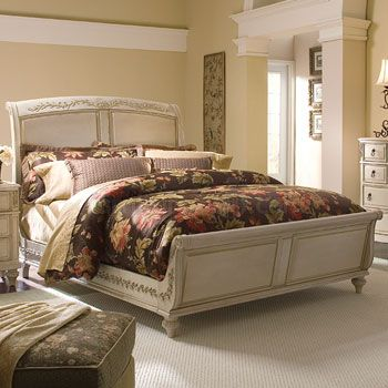 Laura Ashley Furniture Laura Ashley Sturlyn Sleigh Bed Bisque By Kincaid 81 Sleigh Bed