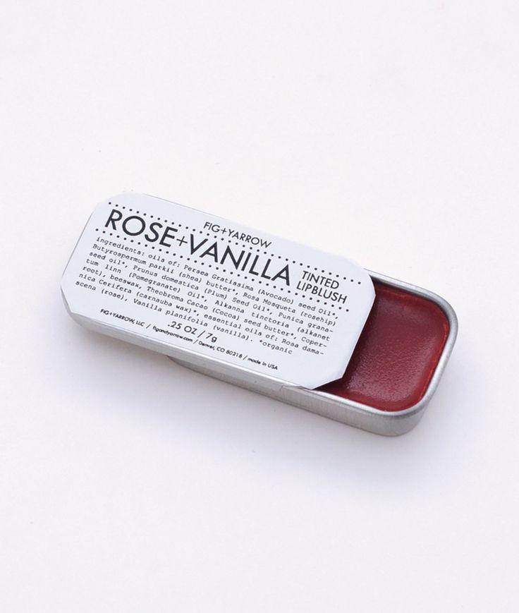 ROSE + VANILLA TINTED LIP BLUSH