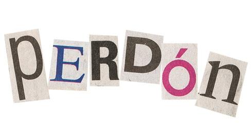 La palabra PERDÓN, Muy fácil escribirla, difícil de pronunciar, cada sentimiento debe ser sincero con la persona amada