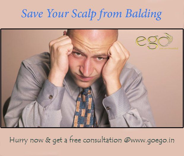 #Dandruff, #Hairfalls, Grey Hair or #Baldness! Now say goodbye to all hair related problems. Hurry now & get a free consultation @www.goego.in #Bangalore