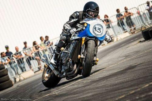 caferacerpasion.com Triumph 675 #CafeRacer Drift - Matt...