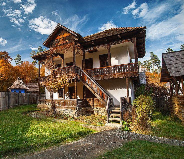 Vrei o casă tradițional românească? Păi ai o sursă bună aici