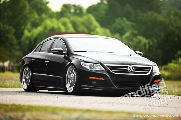 Slammed Modified VW CC 2010 Pictures