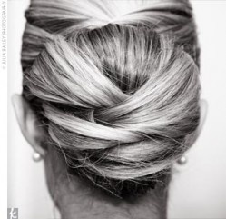 Wow! I wouldn't even know where to begin. Gorgeous. Oh, and I would need another head of hair to make a bun that large!