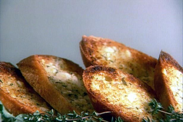 Get Crusty Garlic and Herb Bread Recipe from Food Network