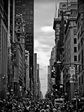 Busyness of Manhattan af Rasmus Bendixsen