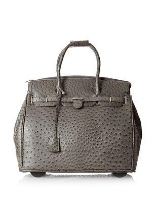 50% OFF KC Jagger Women's Kendall Rolling Bag, Grey Ostrich