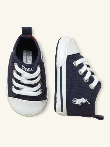 Montauk High Sneaker - Layette Shoes - Ralph Lauren UK £47