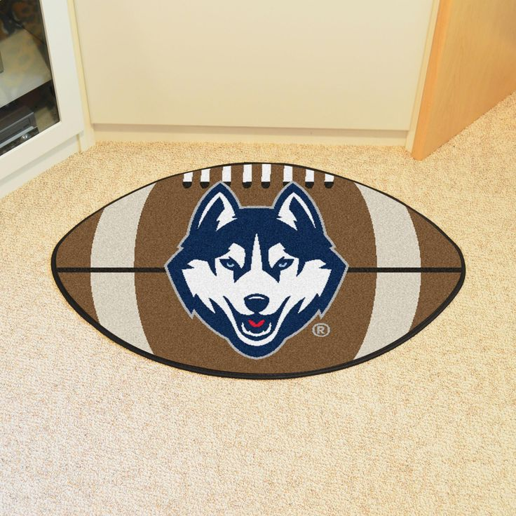 University of Connecticut Football Rug 20.5x32.5