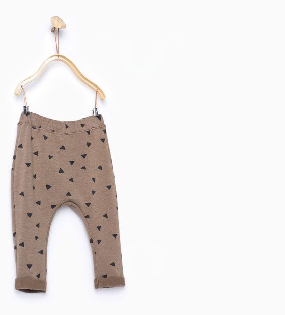Triangle print leggings