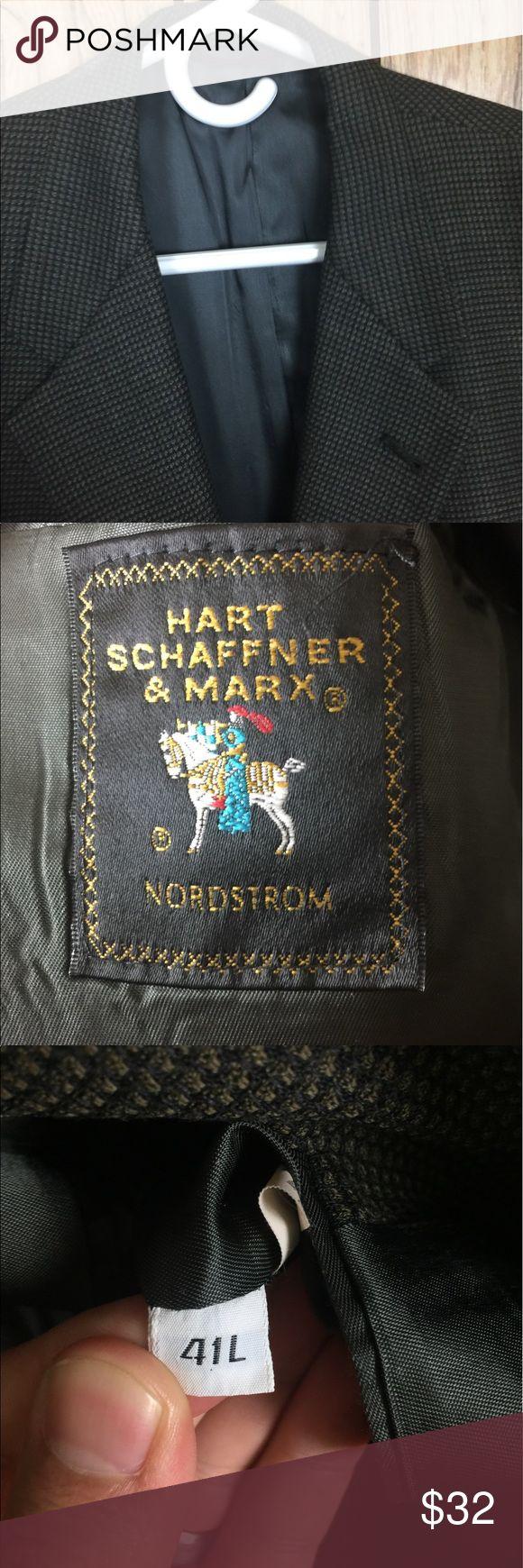 Men's Nordstrom Hart Schaffner & Marx Blazer 41 L Men's Blazer great used condition Nordstrom Suits & Blazers Sport Coats & Blazers