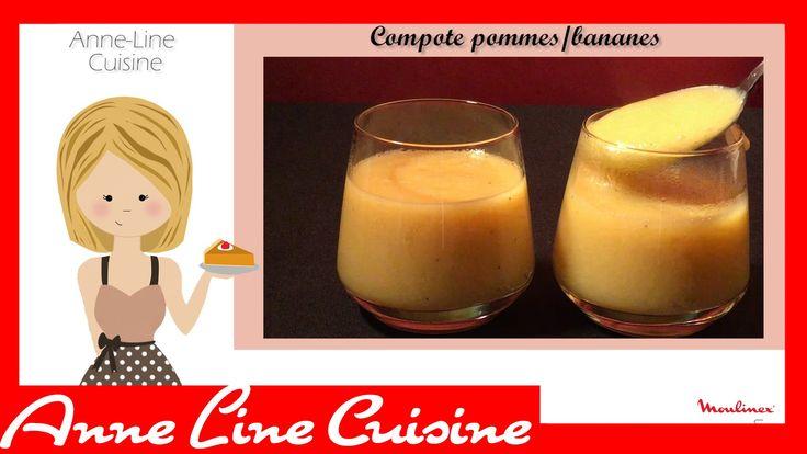 Compote de pommes bananes soup co recettes au blender chauffant pinterest pomme banane - Puree au blender chauffant ...