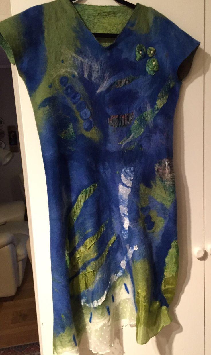Nuno felting dress Såld
