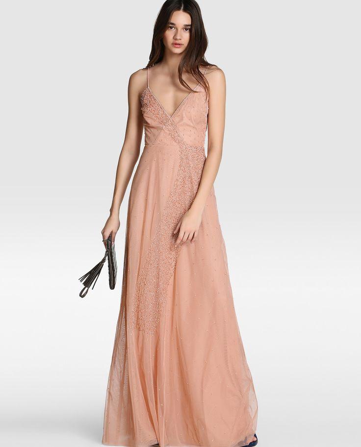 Vestido de mujer Easy Wear con strass y escote cruzado · Easy Wear · Moda · El Corte Inglés