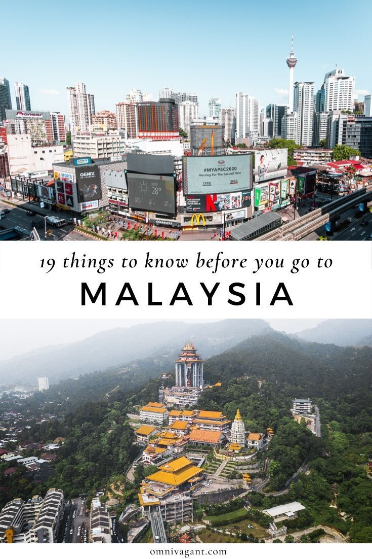 19 Things You Need To Know Before Going To Malaysia Omnivagant