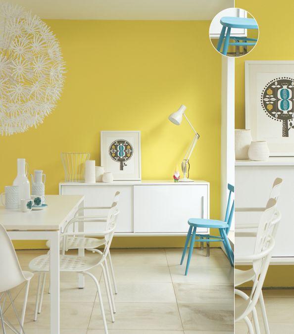 wall yellow