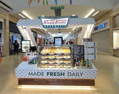 This New Krispy Kreme Store Looks Like A Giant Box of Donuts | Brand Eating