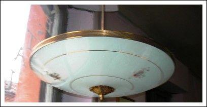 lampadario anni 40 ligure