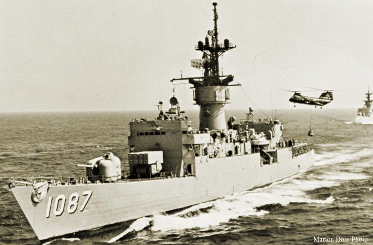 Pictures of us navy ships in Vietnam War   At War's End, U.S. Ship Rescued South Vietnam's Navy