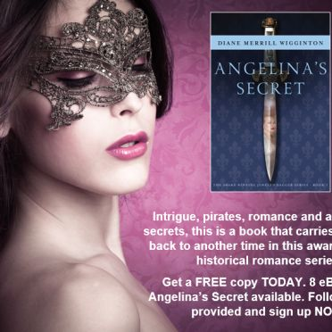 To get your copy sign up NOW CLICK HERE To learn more about Angelina's Secret go HERE