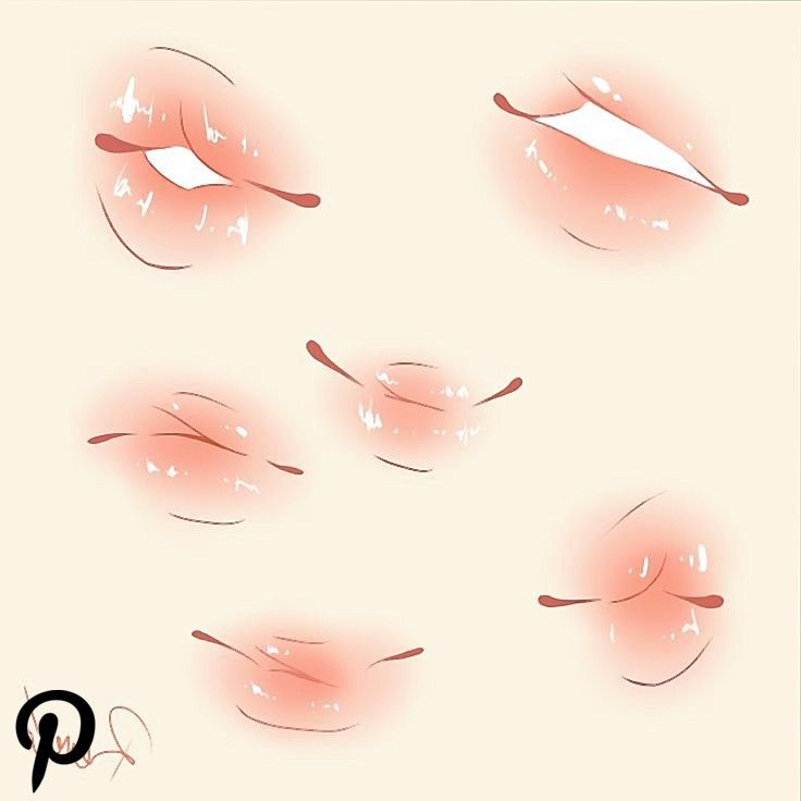 Drawings Art Plump Lips Cute Colouring Drawings Art Lip Plumper Lips Drawing Male Face Drawing