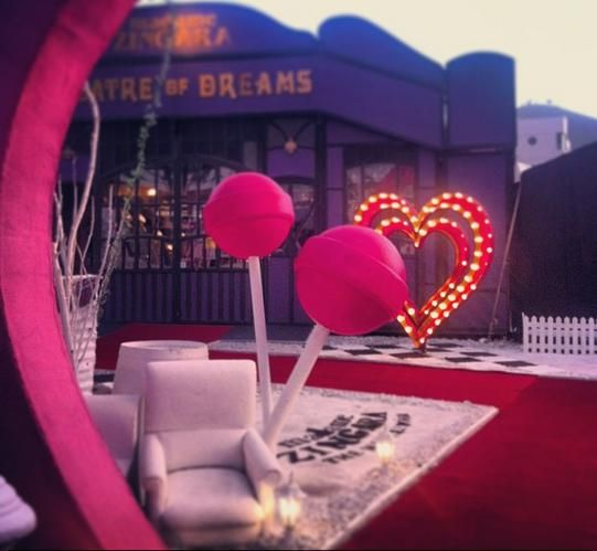 Madame Zingara's Theater of Dreams....