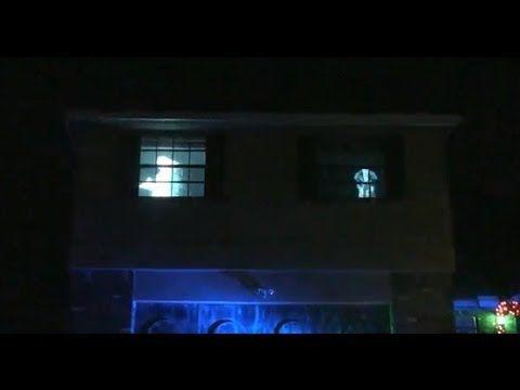 halloween window projections for 2013 halloween ghost yardhaunt homehaunt atmosfearfx